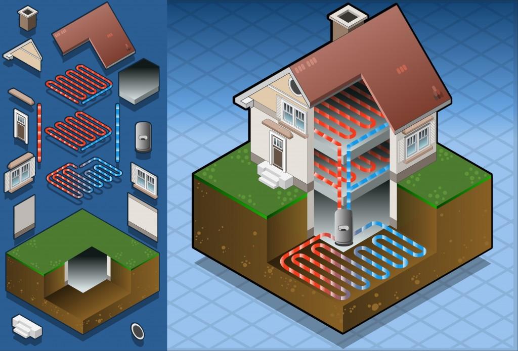 Geothermal System Diagram